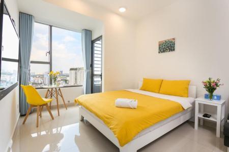 Bán căn hộ officetel Rivergate Residence 1PN, tầng 15, tháp B, đầy đủ nội thất, view thoáng