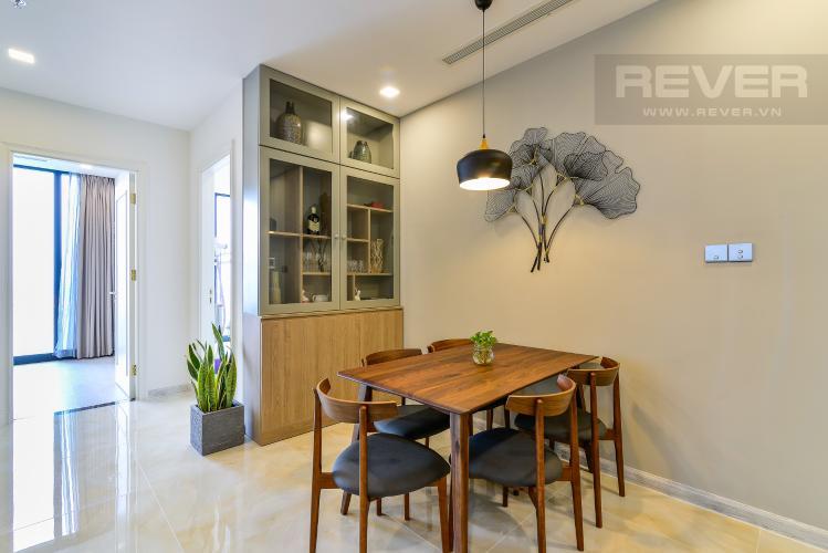 Phòng Ăn Cho thuê căn hộ Vinhomes Golden River tầng cao 3PN đầy đủ nội thất view sông