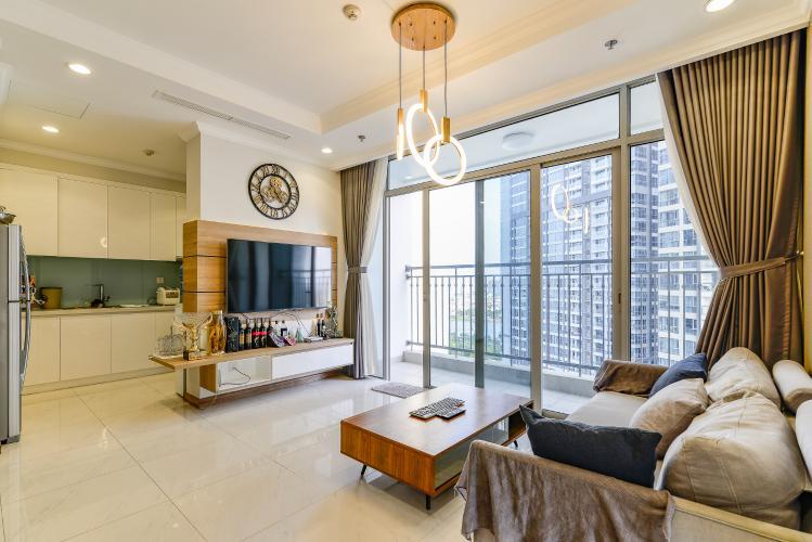Căn hộ Vinhomes Central Park 3 phòng ngủ tầng trung L2 hướng Đông Nam