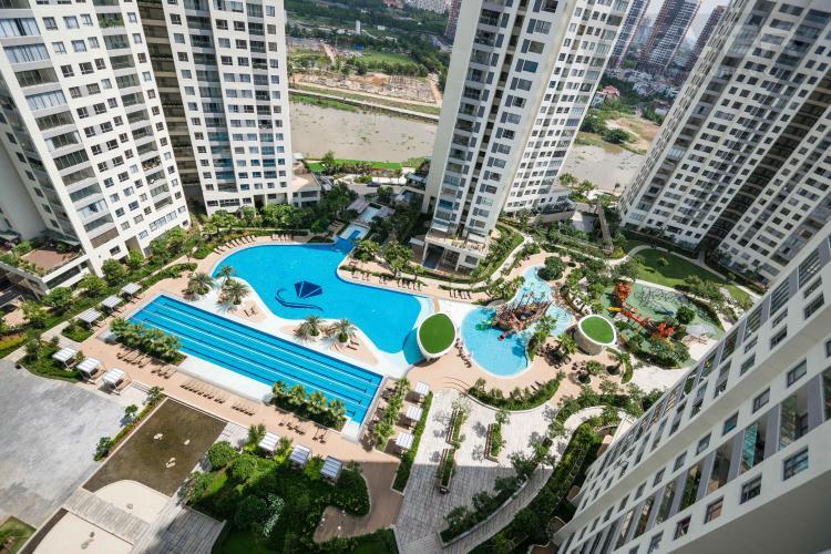 View Cho thuê căn hộ Diamond Island - Đảo Kim Cương 1PN, tầng cao, đầy đủ nội thất, view hồ bơi