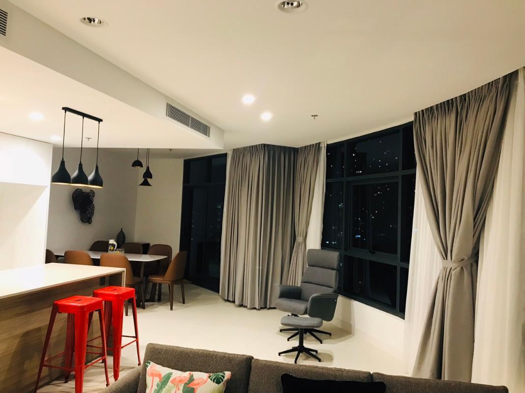 bfc95ed89fec79b220fd Bán căn hộ City Garden 3PN, tháp Crescent, đầy đủ nội thất, view nội khu và thành phố