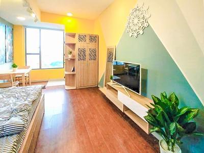 Cho thuê căn hộ RiverGate Residence 1PN, tầng thấp, tháp B, đầy đủ nội thất, view sông Sài Gòn