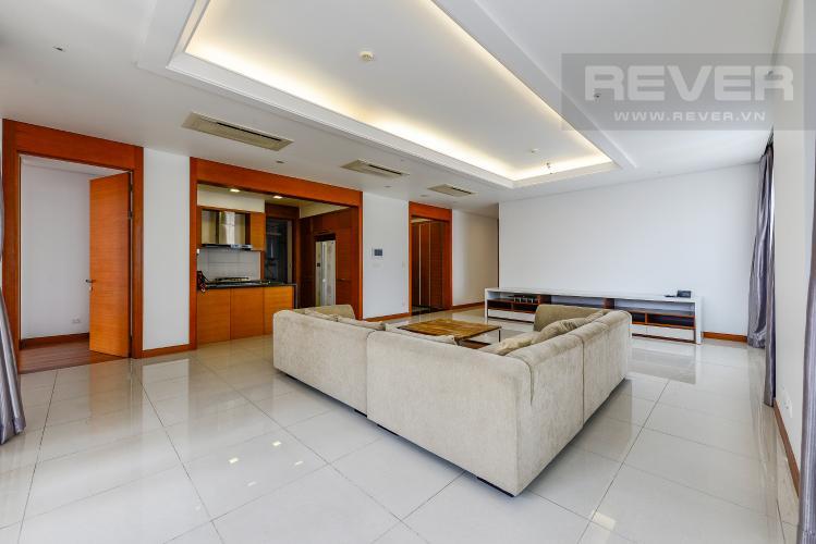 Phòng Khách Căn hộ Xi Riverview Place 3 phòng ngủ tầng trung đầy đủ nội thất