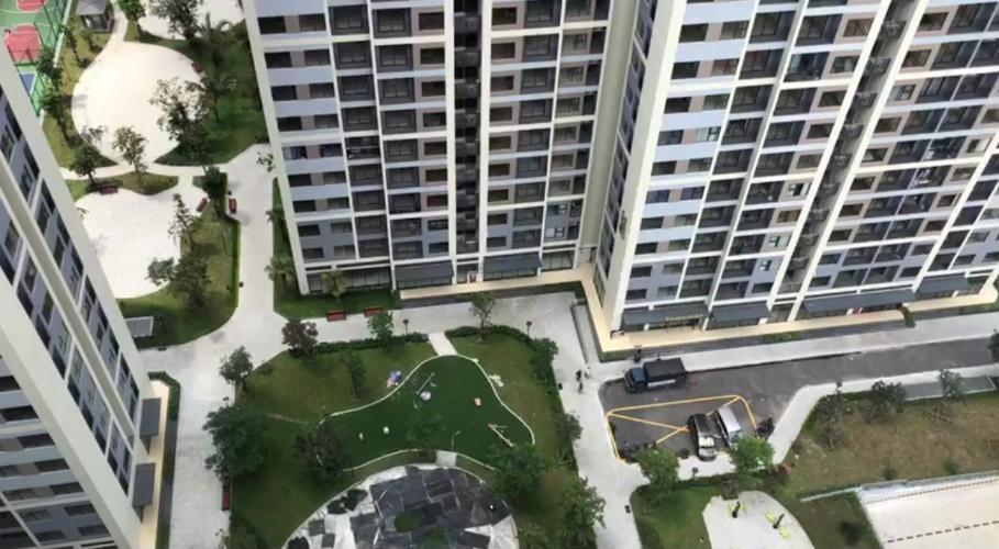 View Vinhomes Grand Park Quận 9 Căn hộ Vinhomes Grand Park tầng cao, view nội khu quang đãng.