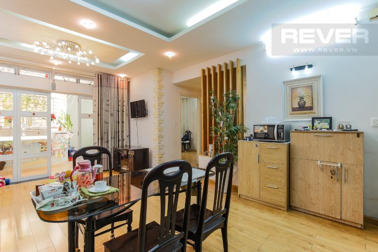 Phòng ăn Chung Cư Khánh Hội hướng Đông Nam, 2 phòng ngủ nội thất đầy đủ