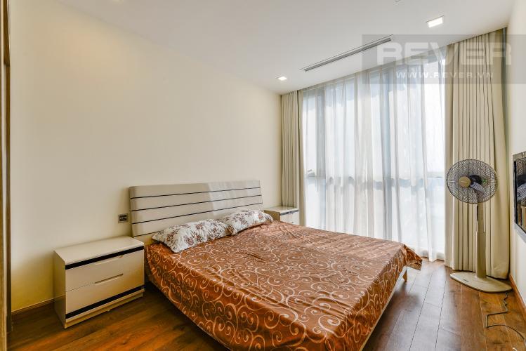 Phòng ngủ 3 Căn hộ Vinhomes Central Park 3 phòng ngủ tầng trung P6 view sông