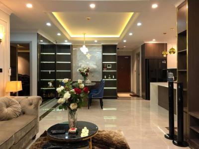 Bán căn hộ The Gold View 3PN, tháp A, đầy đủ nội thất, view thành phố