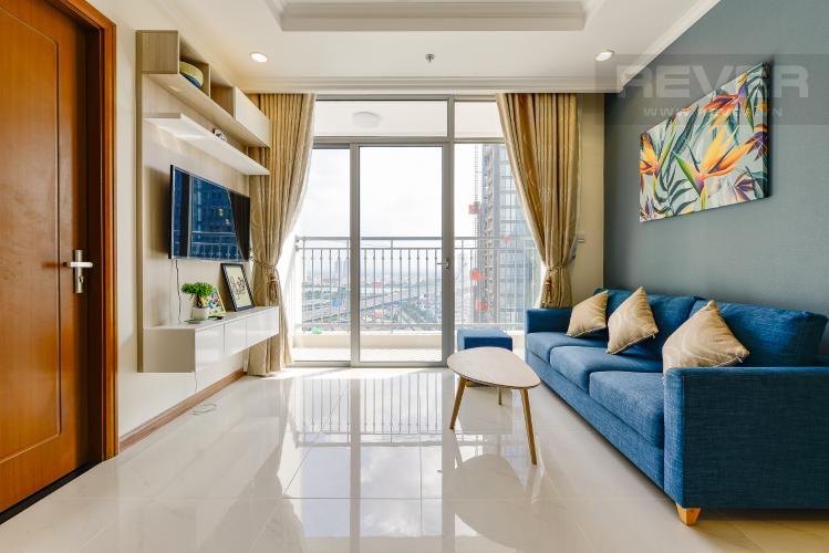 phòng khách Căn hộ Vinhomes Central Park tầng trung L3 vừa hoàn thiện, full nội thất