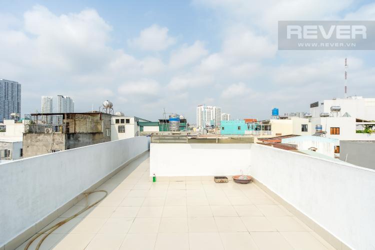 Sân thượng nhà phố Quận 7 Bán nhà 3 tầng hẻm Trần Xuân Soạn, Quận 7, diện tích 77m2, cách mặt tiền đường Trần Xuân Soạn 30m