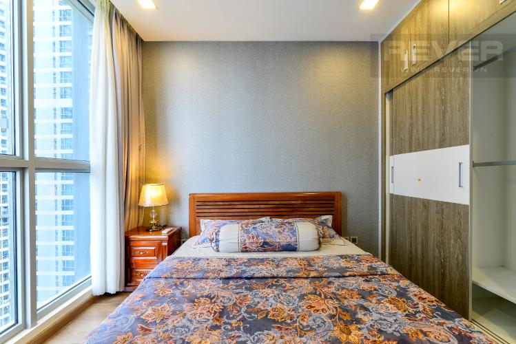 Phòng Ngủ 1 Cho thuê căn hộ Vinhomes Central Park 2PN, đầy đủ nội thất, view sông, hướng Đông Nam đón gió