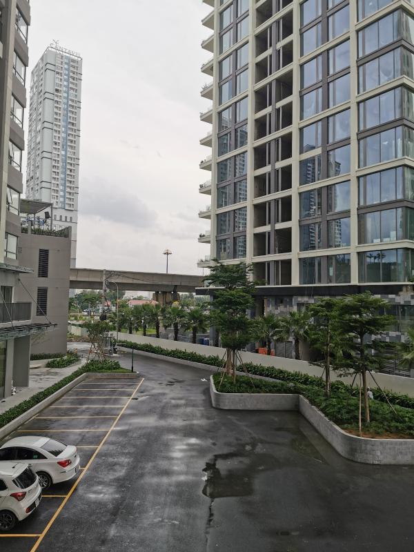 view Cho thuê officetel Masteri An Phú, diện tích 30m2, nội thất cơ bản, nằm trong khu căn hộ cao cấp