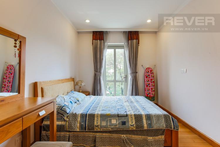 Phòng Ngủ Căn hộ Saigon Pavillon 1 phòng ngủ tầng thấp nội thất đầy đủ