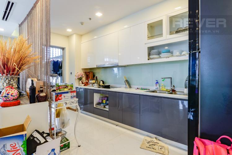 Nhà Bếp Căn hộ Vinhomes Central Park 4 phòng ngủ tầng cao P1 view sông