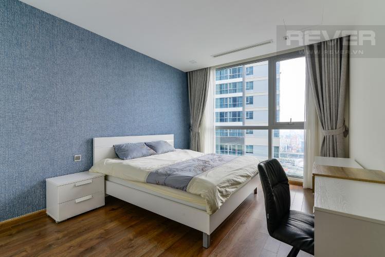 Phòng Ngủ 2 Cho thuê căn hộ Vinhomes Central Park 4PN, đầy đủ nội thất, view trực diện sông Sài Gòn