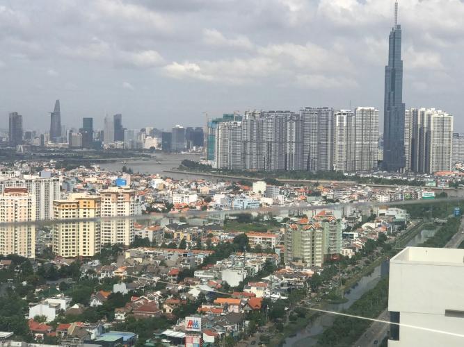 Bán Penthouse Masteri An Phú 4PN, diện tích 396m2, có sân vườn rộng, bàn giao thô, view toàn cảnh Sài Gòn