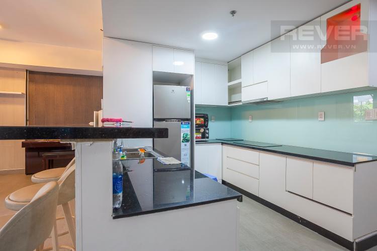 Nhà Bếp Căn hộ Masteri Thảo Điền 4 phòng ngủ tầng thấp T2 hướng Tây Nam