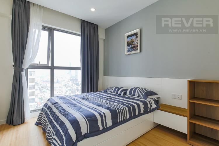 Phòng Ngủ 3 Căn hộ Masteri Millennium tầng cao, 3PN, đầy đủ nội thất, view kênh Bến Nghé