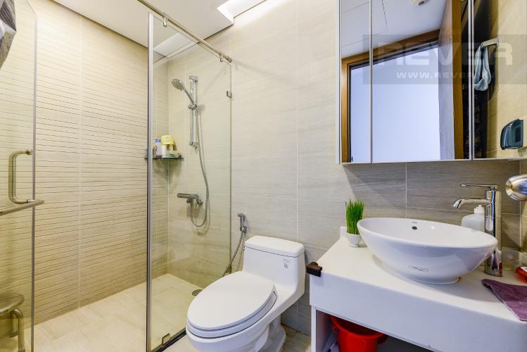 Phòng tắm 2 Căn hộ Vinhomes Central Park tầng thấp. Park 6, 2 phòng ngủ, full nội thất