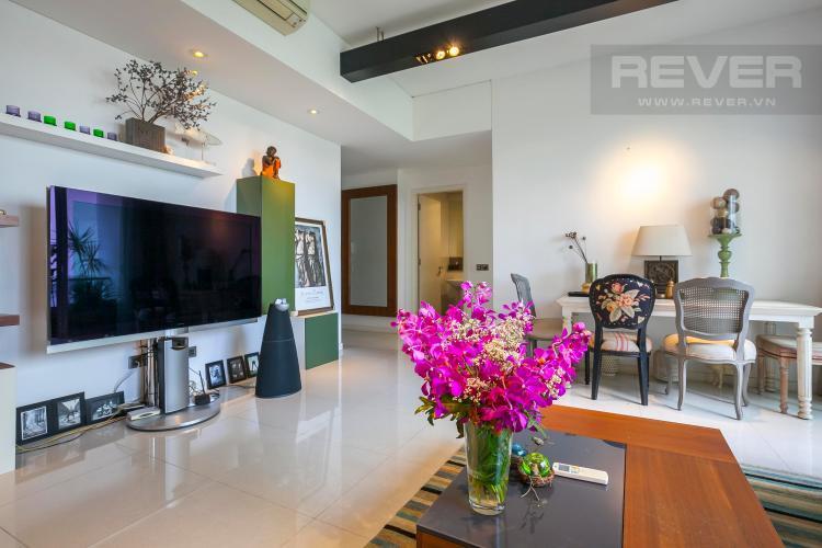 Phòng Khách Căn hộ The Estella Residence 2 phòng ngủ tầng thấp T3B nội thất đầy đủ