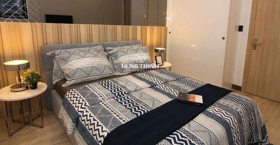 Phòng ngủ nhà mẫu căn hộ Q7 SAIGON RIVERSIDE Bán căn hộ Q7 Saigon Riverside thuộc tầng trung, diện tích 69.19m2, thiết kế hiện đại, chưa bàn giao.