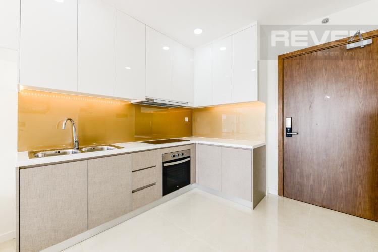 Bếp Cho thuê căn hộ Masteri Millennium tầng cao 2PN đầy đủ nội thất