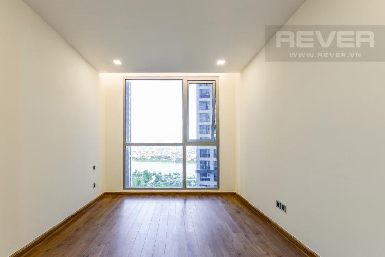 Phòng ngủ 3 Căn hộ Vinhomes Central Park 3 phòng ngủ tầng trung P7 view hồ bơi