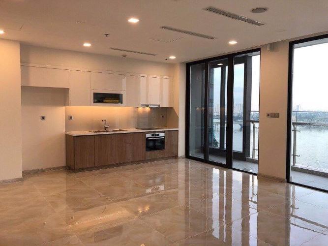 Bán căn hộ Vinhomes Golden River 3 phòng ngủ tầng cao view sông Sài Gòn thiết kế căn hộ vòng cung