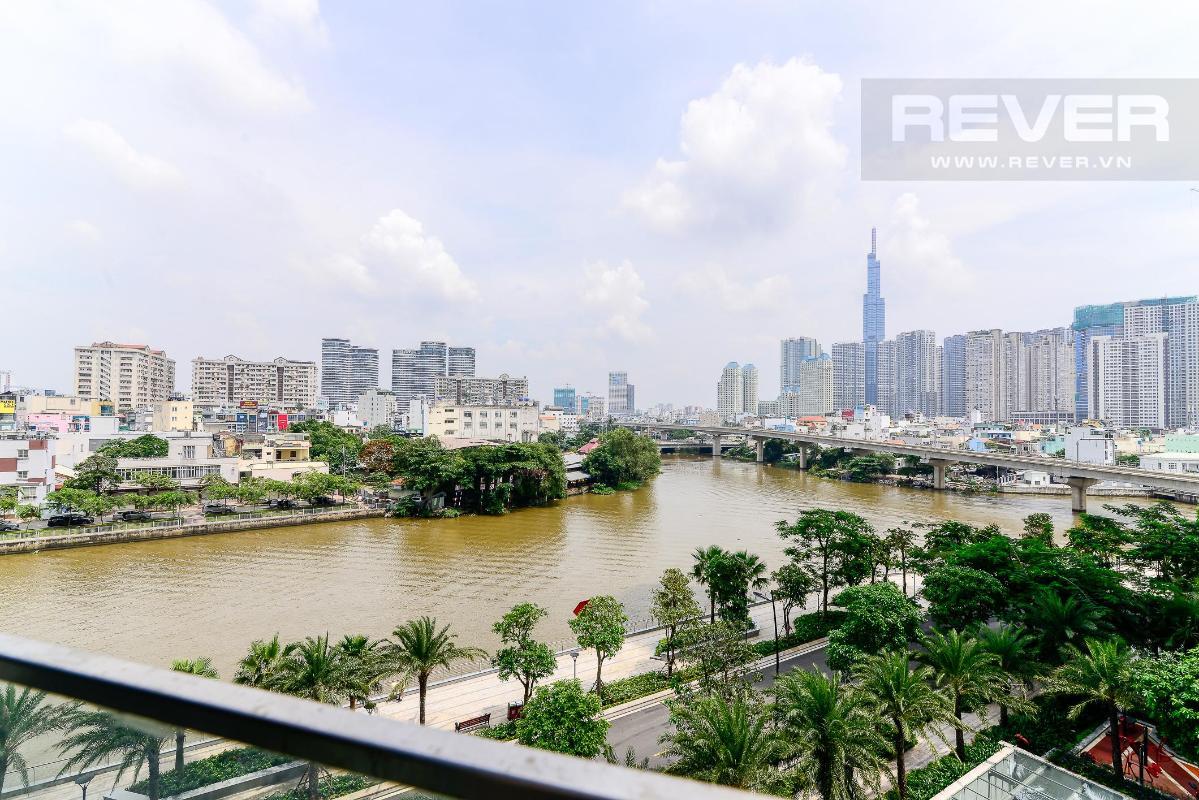 11 Cho thuê căn hộ Vinhomes Golden River 2PN, tầng thấp, đầy đủ nội thất, view sông và Landmark 81