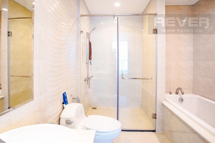 Phòng Tắm 1 Bán căn hộ Vinhomes Central Park hướng Tây Bắc, 103m2 2PN 2WC, nội thất cao cấp, view thành phố
