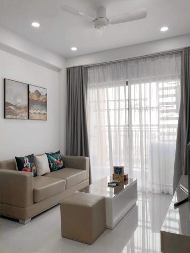 Phòng khách căn hộ The Sun Avenue Căn hộ The Sun Avenue view Landmark 81, đầy đủ tiện nghi.