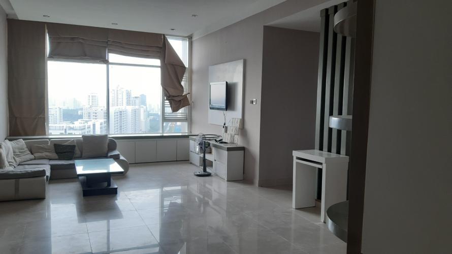 Căn hộ chung cư Phú Mỹ 3 phòng ngủ, view thành phố nội thất đầy đủ.