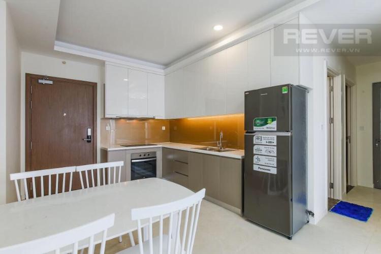 Phòng bếp căn hộ Masteri Millennium, Quận 4 Căn hộ Masteri Millennium bàn giao đầy đủ nội thất, tầng cao.