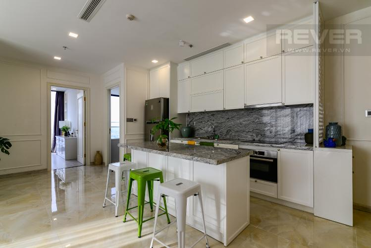 Nhà Bếp Căn hộ Vinhomes Golden River tầng cao, 3PN đầy đủ nội thất