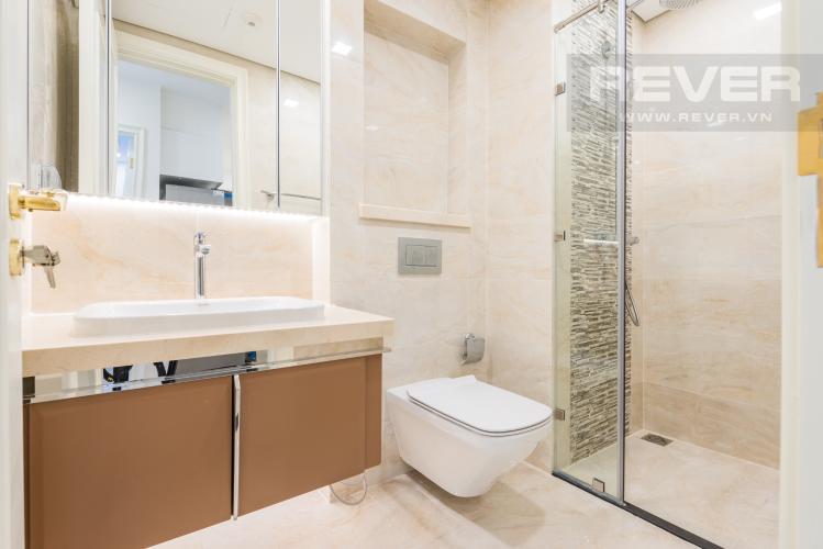 Phòng tắm Căn hộ Vinhomes Golden River 1PN, tầng cao, tháp The Aqua 1, bàn giao kèm nội thất đầy đủ