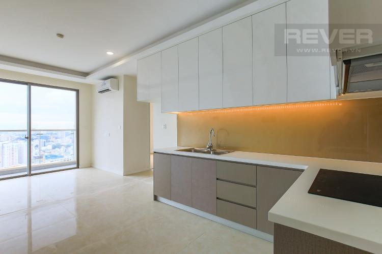 Phòng Bếp Bán căn hộ Masteri Millennium tầng cao, 2PN, view sông