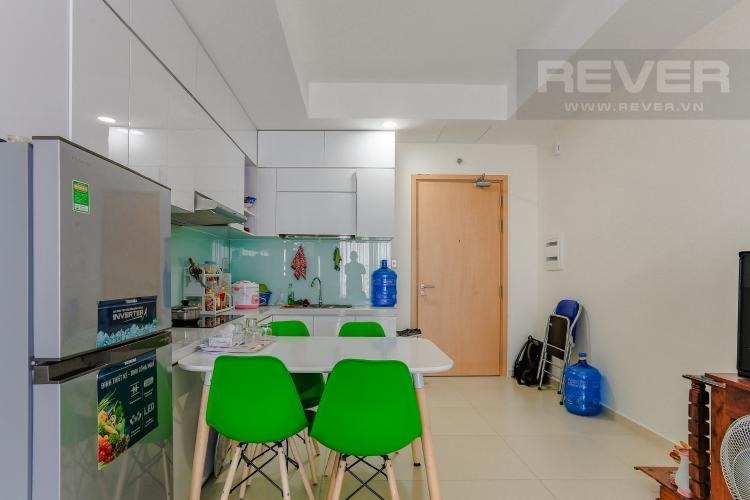 Phòng Ăn Căn hộ M-One Nam Sài Gòn tầng cao diện tích 62,75m2, nội thất đầy đủ.
