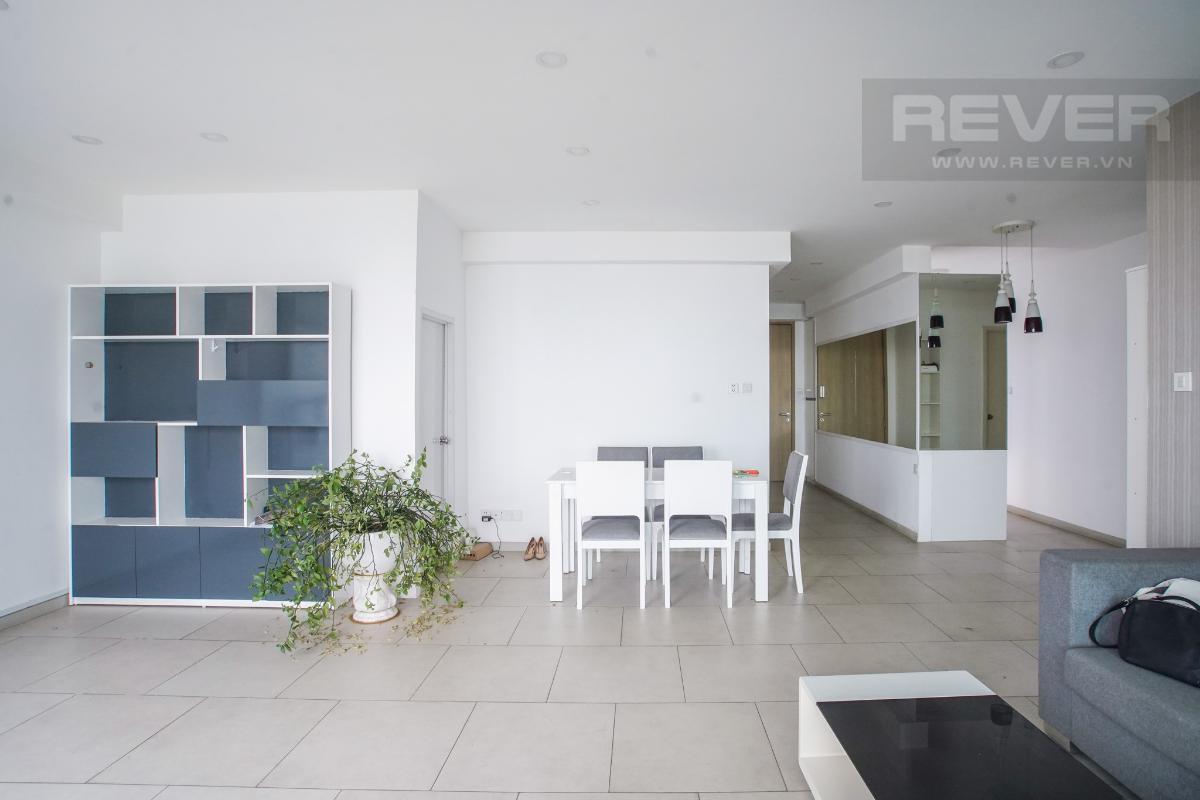 Phòng Khách Bán căn hộ Riviera Point 2PN, diện tích 105m2, đầy đủ nội thất, hướng Đông Bắc, view sông và hồ bơi