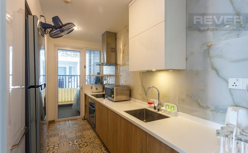 Nhà Bếp Căn hộ Vista Verde tầng cao, tháp T1, 2 phòng ngủ, view sông