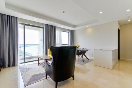 Cho thuê căn hộ Diamond Island - Đảo Kim Cương 2PN, đầy đủ nội thất, view sông Sài Gòn thoáng mát