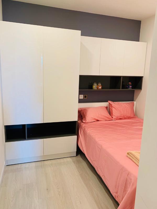 650ab179d5fc32a26bed Cho thuê căn hộ Saigon Royal 1 phòng ngủ, tầng 23, tháp A, đầy đủ nội thất, hướng Tây Bắc