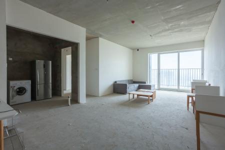 Căn góc Vista Verde 3 phòng ngủ tầng cao T1 nhà thô, mới bàn giao