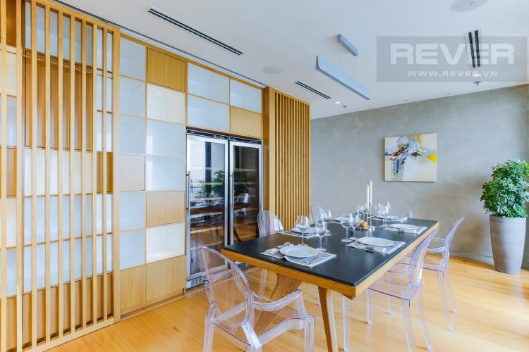 Bàn Ăn Penthouse City Garden tầng cao B2 thiết kế sang trọng, nội thất cao cấp