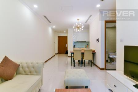 Cho thuê căn hộ Vinhomes Central Park 1PN, tầng cao, đầy đủ nội thất