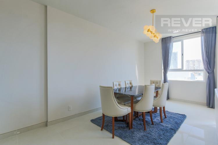 Bàn Ăn Bán hoặc cho thuê căn hộ Grand Riverside 3PN và 2WC, đầy đủ nội thất, view thành phố