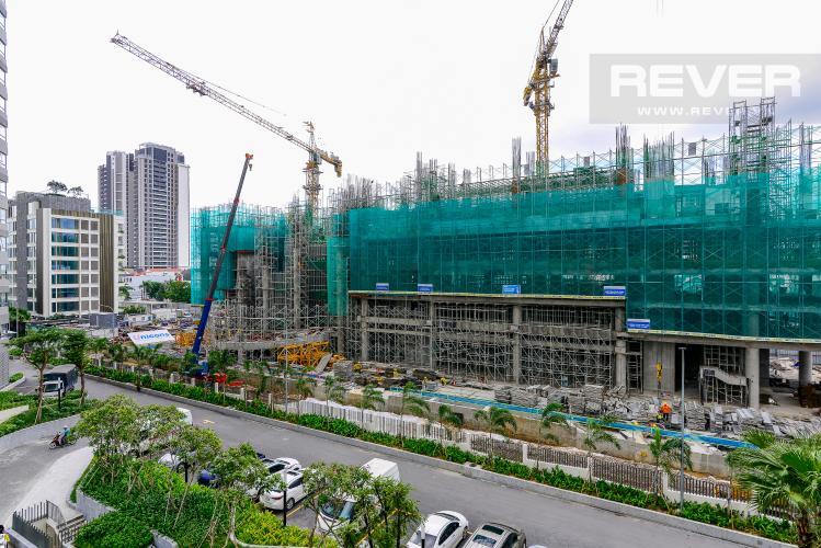 View Cho thuê căn hộ Masteri An Phú 2PN, tầng thấp, diện tích 73m2, view hồ bơi