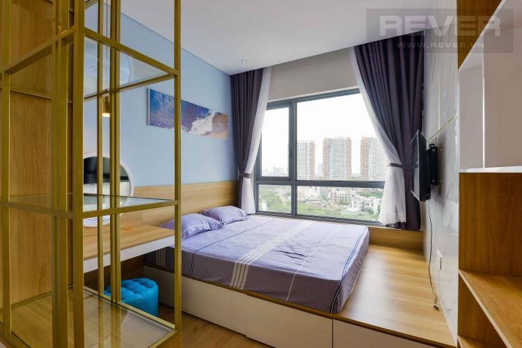 Phòng Ngủ Cho thuê căn hộ Diamond Island - Đảo Kim Cương 1PN, tháp Canary, đầy đủ nội thất, view sông thoáng mát
