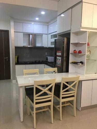 Phòng bếp căn hộ Galaxy 9 Căn hộ Galaxy 9 hướng cửa Đông Bắc, view tầng cao thoáng mát.
