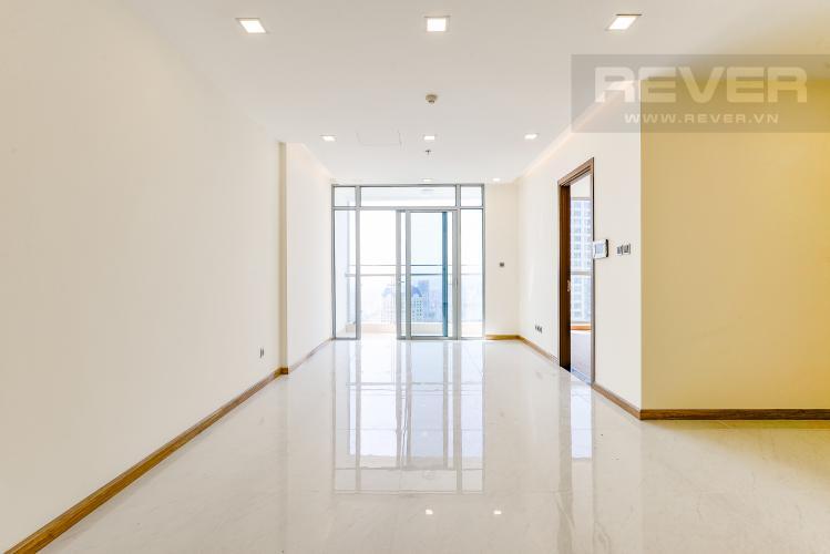 Phòng khách Căn hộ Vinhomes Central Park 2 phòng ngủ tầng cao Park 7