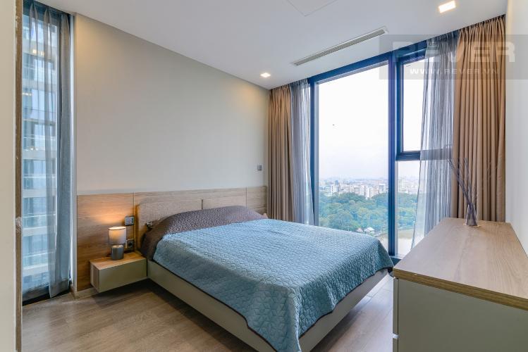 Phòng Ngủ 2 Cho thuê căn hộ Vinhomes Golden River tầng cao 3PN đầy đủ nội thất view sông
