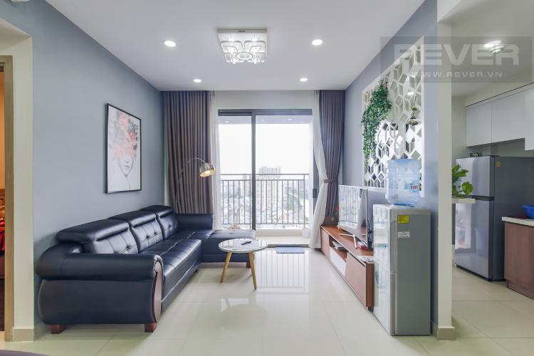 Phòng Khách Cho thuê căn hộ RiverGate Residence 3PN, tầng cao, tháp B, đầy đủ nội thất, view sông thoáng mát
